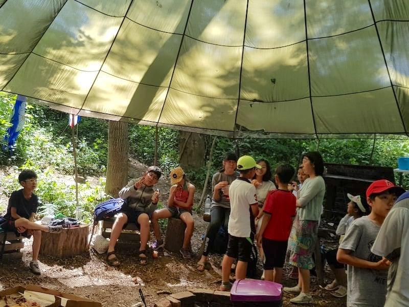 Outdoor Birthday Parties | Rewilding Adventure