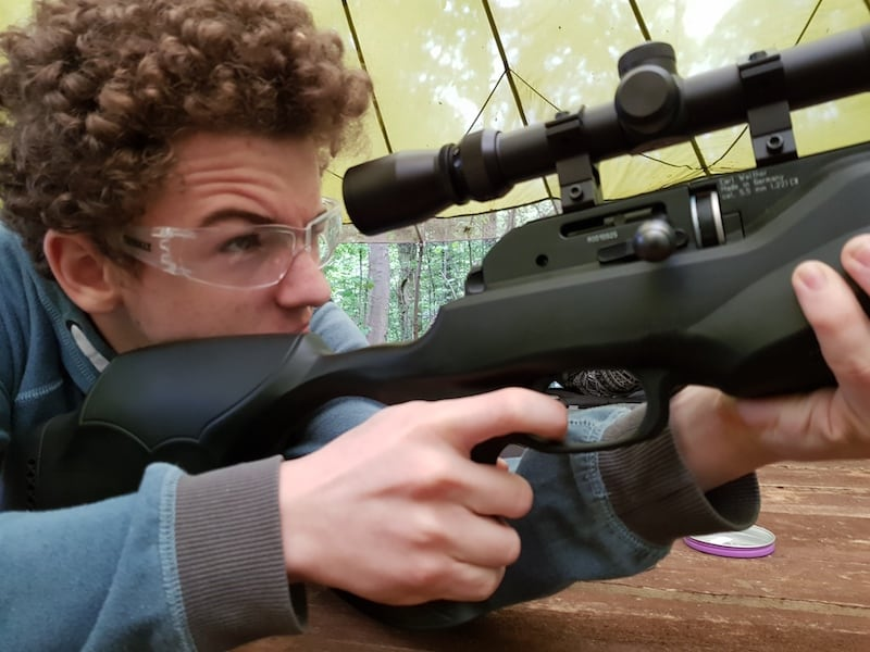 Air Rifle Shooting Skills & Courses | Rewilding Adventure