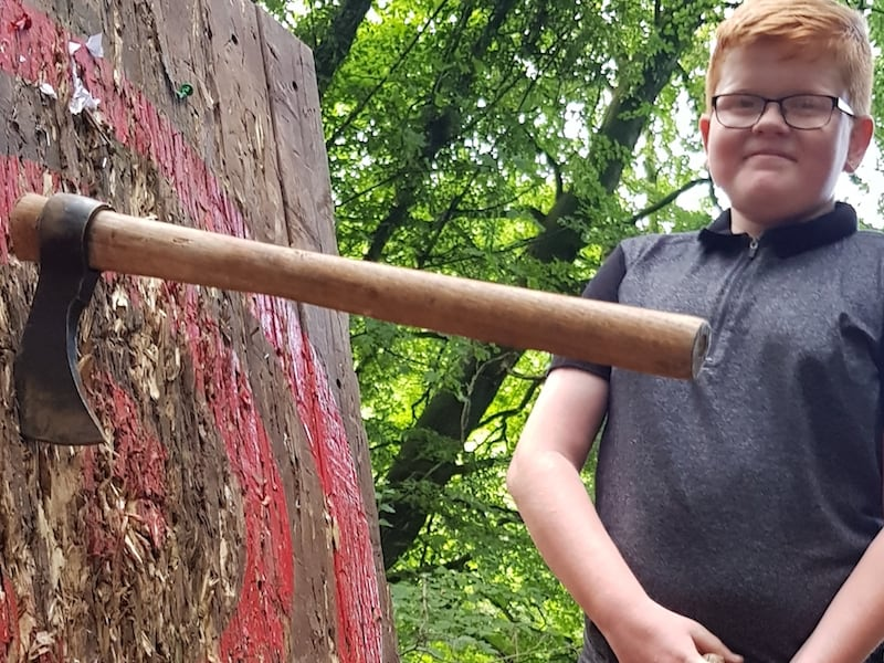 Axe Throwing | Rewilding Adventures | Outdoor Learning Specialists