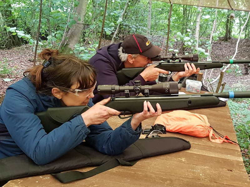 Air Rifle Shooting Skills   Rewilding Adventure
