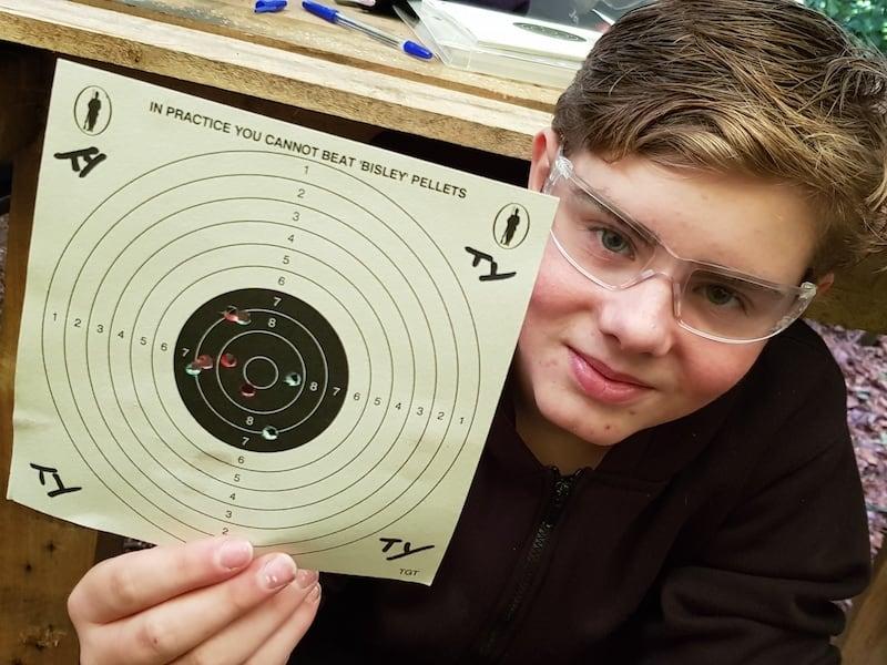 Air Rifle Shooting Skills | Rewilding Adventure