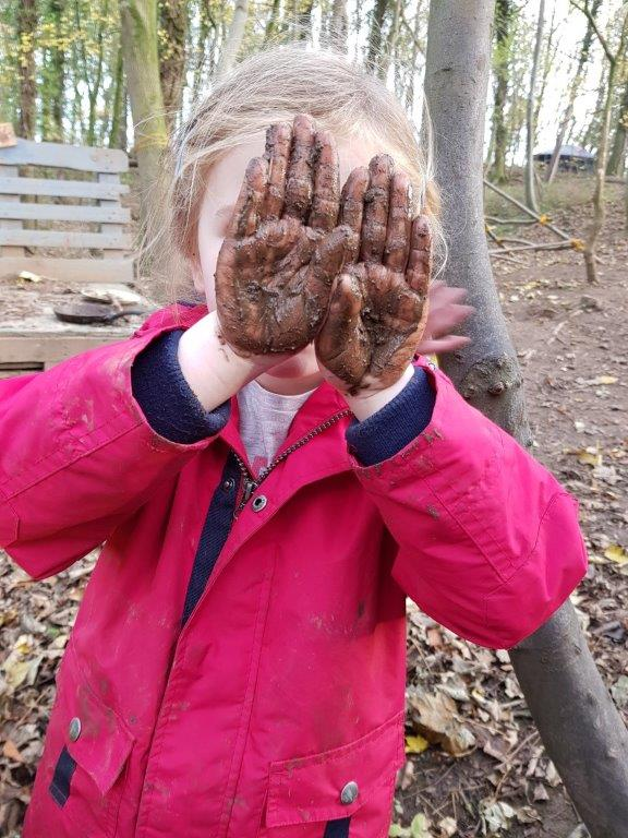 Forest School Muddy Hands | Rewilding Adventure