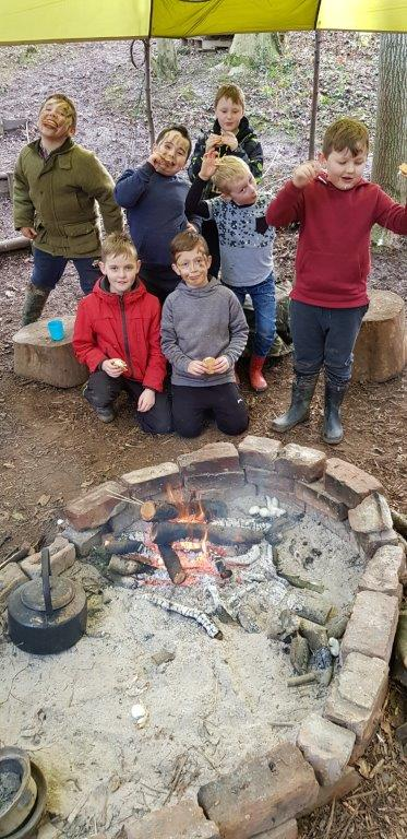 Childrens Outdoor Party Birthday Bushcraft | Rewilding Adventures