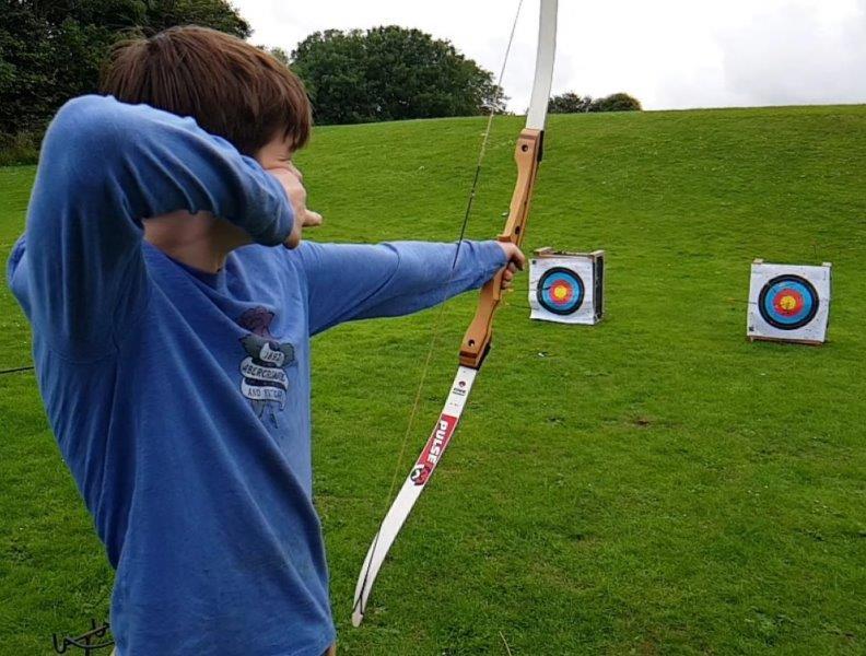 School based archery team building