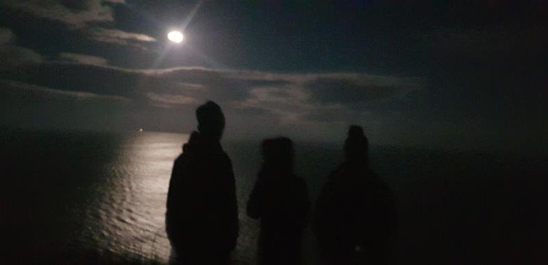 Moon over Runswick