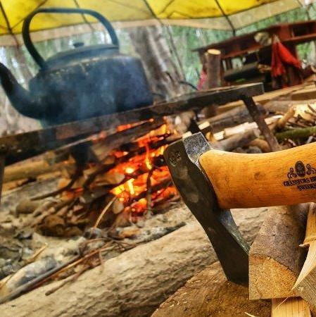 Bushcraft Campfire Axe Gransfers Wilderness Rewilding 2