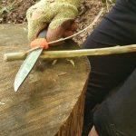 Bushcraft Rewilding Sheath Knife Mora Knive Greenwood Carving