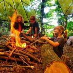Feral Club Campfire Camp Woodland Fire Lighting Rewilding Adventure Bushcraft 2