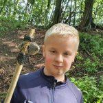 Feral Club Rewilding Adventure Bushcraft Flint Axe Primitive Tool Pine Pitch Glue