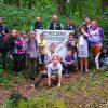 Feral Club Rewilding Adventure Group Children Woodland Activties Forest School Axe Throwing