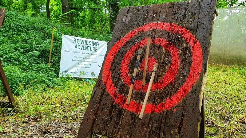 Axe Throwing Wild Activity Day