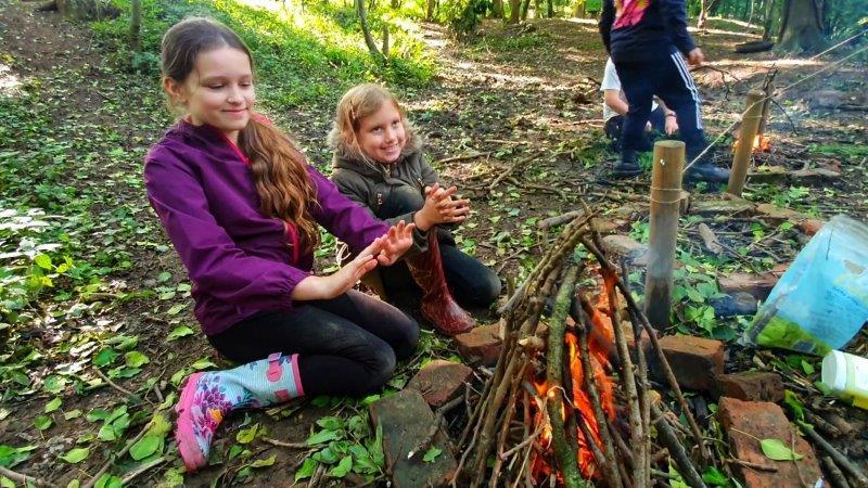 Campfire Bushcraft Wild Activity Day School Holidays