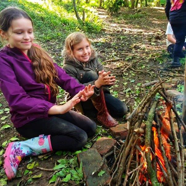HAF Forest School Bushcraft Holidays