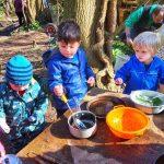 Forest School Mud Kitchen