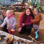 Forest School Preschool Campfire